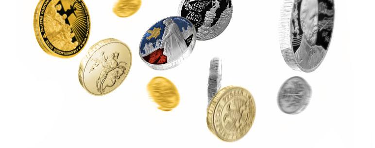 русские монеты 2017